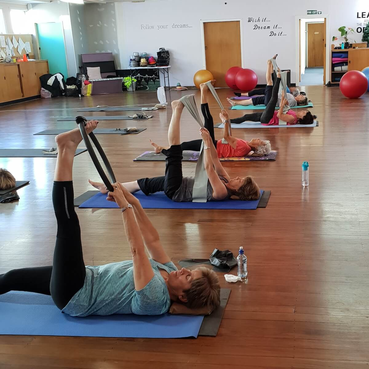 Pilates Class at Dance Express